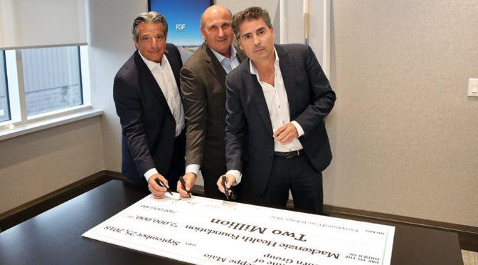 $2M Donation Made to New Mackenzie Vaughan Hospital