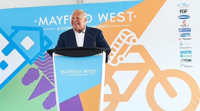 Mayfield West Doug Ford